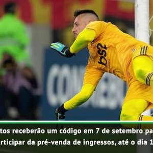 Libertadores: Começa venda de ingressos para a final!