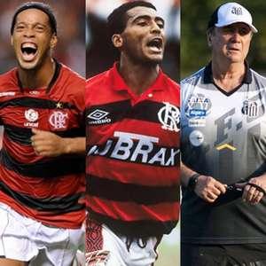 Seedorf, Adriano, Ronaldinho Gaúcho, Romário... Veja ...