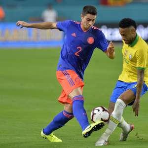 Neymar marca em retorno e Brasil empata com a Colômbia
