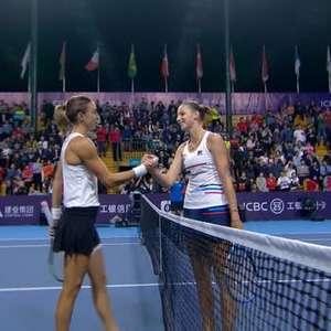 TÊNIS: WTA Zhengzhou: Karolina Pliskova bate Petra ...