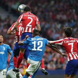Atlético de Madrid marca no fim e empata com a Juventus