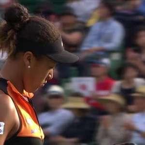 TÊNIS: WTA Osaka: Osaka vence Mertens (6-4, 6-1)