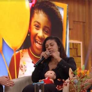 Fátima Bernardes chora tragédia e apoia pais de Ágatha
