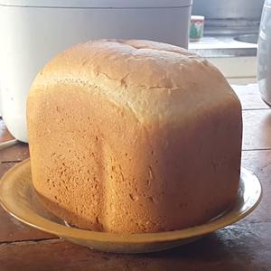Pão de leite feito na máquina de pão