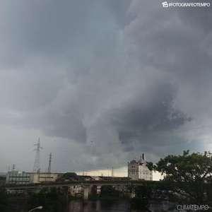Muita chuva em Manaus nesta terça