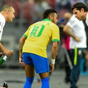 Neymar volta a Paris e começa tratamento após lesão; ele ...