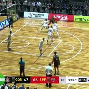 São Paulo vence o Corinthians no primeiro Majestoso do NBB