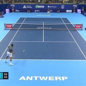 Simon venceu Tsonga e avança no Aberto de Tênis da Europa