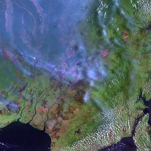 A Indonésia também sofre com as queimadas agrícolas