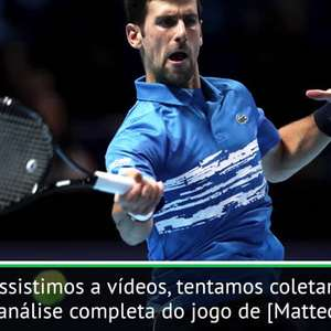 """TÊNIS: ATP Finals: Djokovic: """"É importante fazer a lição ..."""
