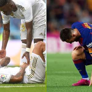Alerta ligado: Barcelona e Real Madrid registram 25 ...