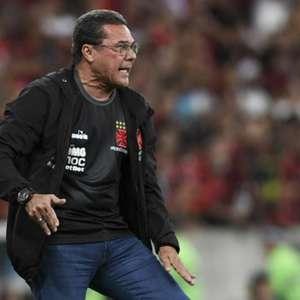 Luxemburgo e Vasco fizeram o jogo da vida contra Flamengo