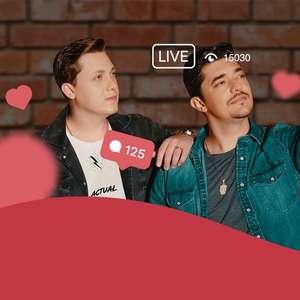 """Confira o clipe de """"Live"""" da dupla George Henrique & Rodrigo"""