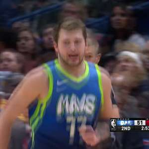 NBA: New Orleans Pelicans 97-118 Dallas Mavericks