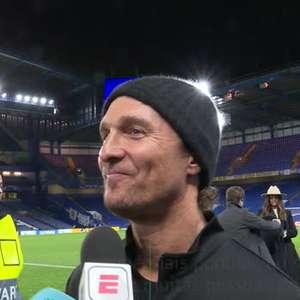 VIRAL: Futebol: O ator Matthew McConaughey revela ...