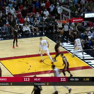 BASQUETE: NBA: Miami Heat 135-121 Atlanta Hawks