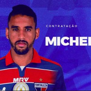 Fortaleza anuncia empréstimo do volante Michel, do Grêmio