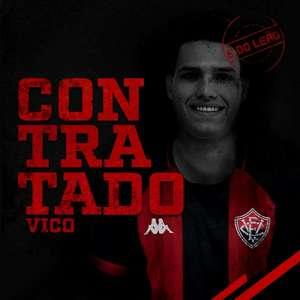 Cria da base do Grêmio, Vico é anunciado pelo Vitória