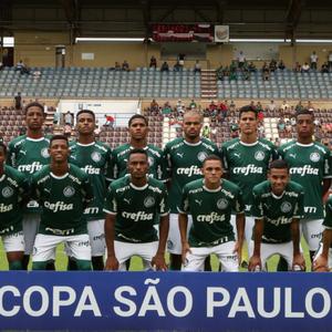 Palmeiras enfrenta Goiás por vaga nas oitavas da Copinha