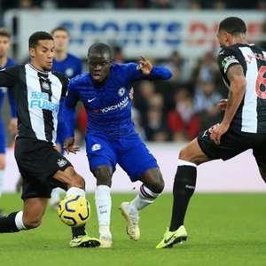 Chelsea perde para o Newcastle com gol aos 49 do 2º tempo