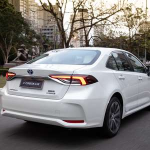 68% das vendas do Toyota Corolla híbrido são topo de linha