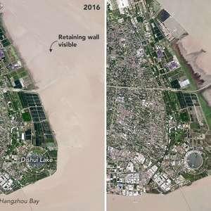 Geografia retificada: Xangai aumenta seu território