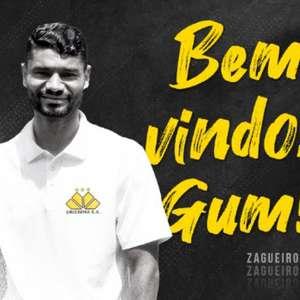 Criciúma anuncia a chegada do zagueiro Gum
