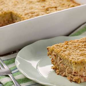 Torta de Frango com Batata-doce sem Glúten