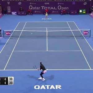 WTA Dubai: Barty vence Muguruza e pega Kvitova nas semis
