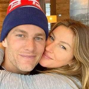 Gisele Bündchen comemora 11 anos de casamento com Tom Brady