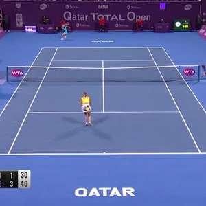 TÊNIS: WTA Doha: Sabalenka vence Kuznetsova (6-4, 6-3) e ...