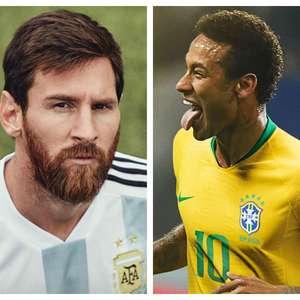 """Cafu se derrete por Neymar: """"Nem Messi é melhor ..."""