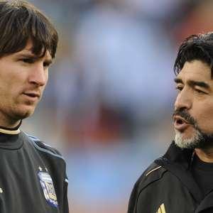 """Cannavaro: """"Messi é um dos melhores, mas Maradona era de ..."""