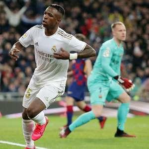 Vinícius Júnior vê Real Madrid superior ao Barcelona e ...