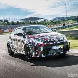 Toyota GR Yaris: aceleramos o três cilindros mais ...