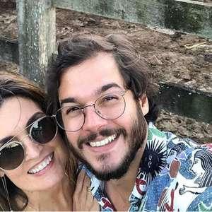 Fátima Bernardes e Túlio Gadêlha posam juntinhos no fim ...