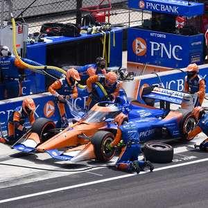 Dixon garante a vitória no Indianapolis Motor Speedway