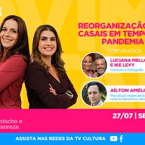 No encontro desta segunda (27), Luciana Mello e Ike Levy ...