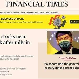 """'FT' questiona militares: """"Defenderão democracia no Brasil?"""""""