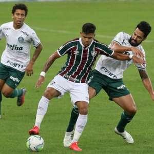 Em jogo de pouca inspiração, Fluminense e Palmeiras empatam