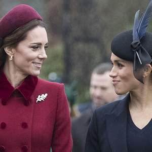 Revista diz que Kate Middleton e Meghan estão grávidas