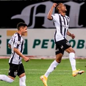 Keno marca três vezes de novo e Galo vence o Grêmio em BH