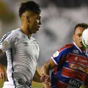 Santos sai na frente, mas cede empate para o Fortaleza