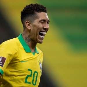 Brasil goleia Bolívia em grande noite de Roberto Firmino