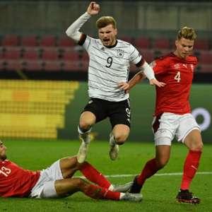 Alemanha e Suíça fazem grande partida e empatam por 3 a 3