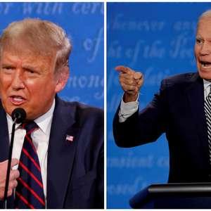 Pesquisa mostra Trump em empate técnico com Biden na Flórida