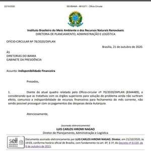 Ibama e ICMBio acumulam mais de R$ 25 milhões de ...