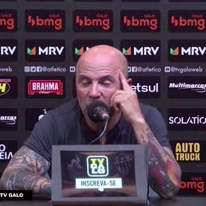 ATLÉTICO-MG: Sampaoli diz ser injusto atribuir a falta ...