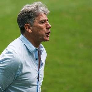 Renato discorda de Lisca: 'Futebol é o local mais seguro'