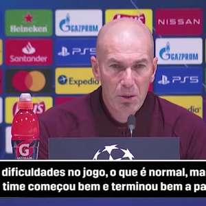 REAL MADRID: Zidante minimiza dificuldades em vitória ...
